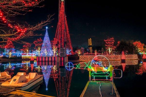 Kennywood Christmas.Kennywood Holiday Lights Named Among Nation S Best