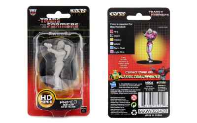 Transformers Deep Cuts Unpainted Miniatures Arcee