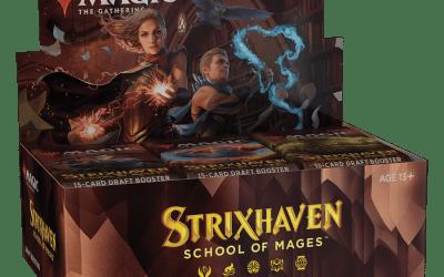 Magic the Gathering Strixhaven Draft Booster Box