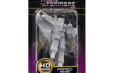 Transformers Deep Cuts Unpainted Miniatures: Starscream