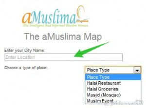 islamic map  Travelling this spring? Need to know where the Halal Restaurants are? 2011 12 11 22 08 The aMuslima Map