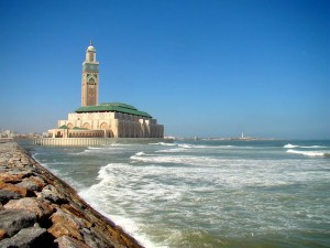 Eid in Casablanca, Morocco ~ note from our muslimah MOROCCO CASABLANCA Hassan II Mosque seaside Casablanca 2011 jpg 080107