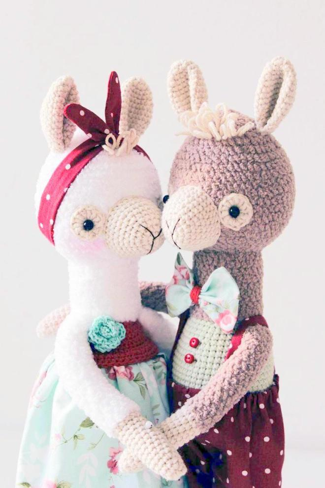 Ravelry: Fluffy the Alpaca-Llama Amigurumi Crochet Pattern pattern ... | 990x660