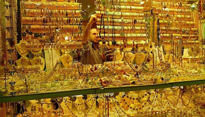 Gold prices in Egypt today - jewelry section