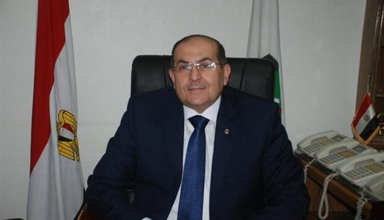 أيمن عبدالمنعم، محافظ سوهاج