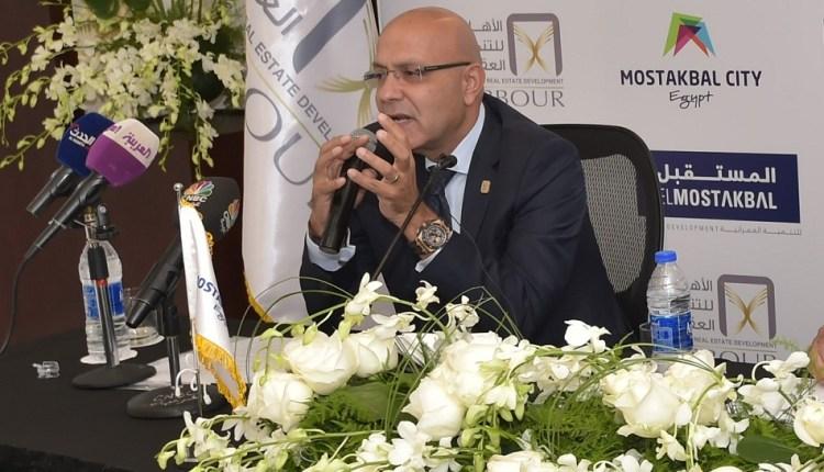 المهندس أحمد صبور، العضو المنتدب لشركة الأهلي للتنمية العقارية