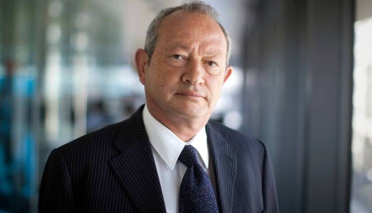نجيب ساويرس رئيس مجلس إدارة شركة أوراسكوم للاتصالات