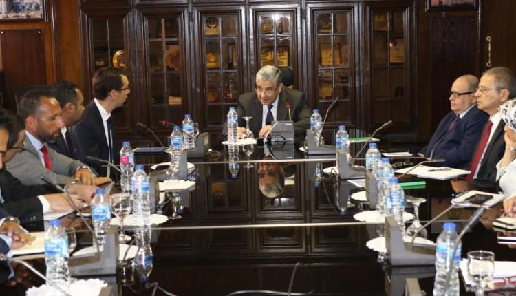 وزير الكهرباء يبحث التعاون مع فودافون مصر