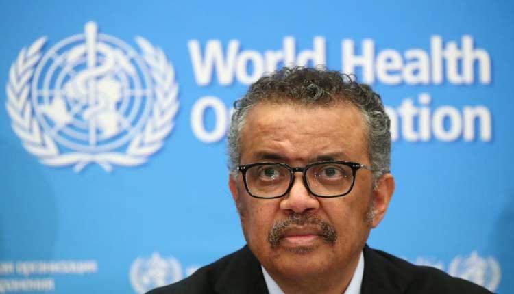 المدير العام لمنظمة الصحة العالمية تيدروس أدهانوم غيبرييسوس