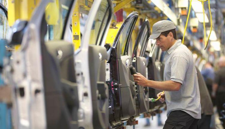 مصنع لإنتاج السيارات
