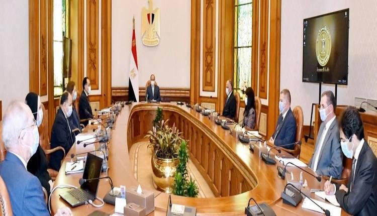 الرئيس السيسي يجتمع بالمجموعة الاقتصادية