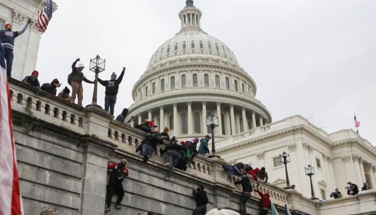 اقتحام مبني الكونجرس الأمريكي