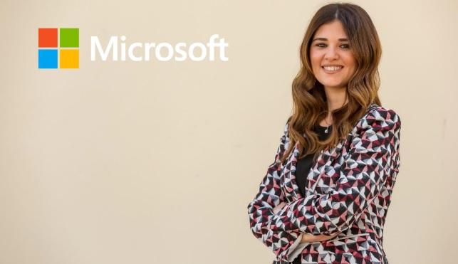 ميرنا عارف المدير العام لمايكروسوفت مصر