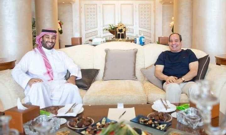 الرئيس السيسى يلتقي الأمير محمد بن سلمان