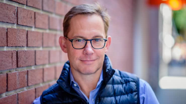 كريس بريت المؤسس المشارك والرئيس التنفيذي لشركة تشايم فاينانشال