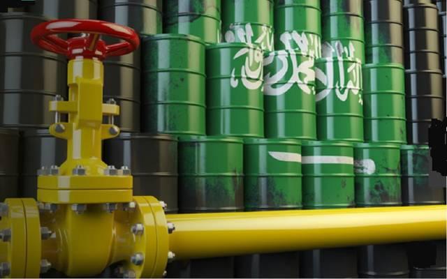 صادرات النفط السعودية