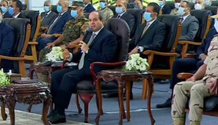 الرئيس السيسي افتتاح معاجلة مياه بحر البقر