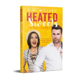 Heated Sweets hardback mock