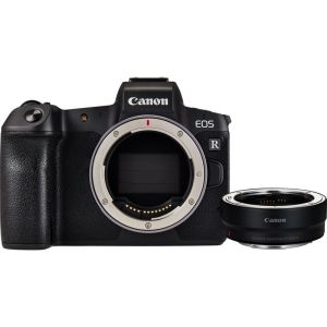 [BUY-NEW] Canon EOS R Mirrorless Digital Camera (Body Alone ) +Mount Adapter EF-EOS R