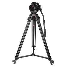 [BUY-NEW]KINGJOY Professional heavy duty video tripod VT-2100L with fluid damping head VT-3520