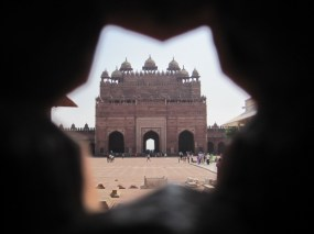 Buland Darwaza (Victory Gate) at Jama Masjid mosque