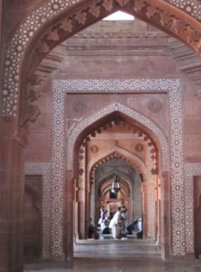 Arcade within Buland Darwaza