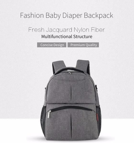 Large Capacity Maternity Unisex Diaper Backpack - AmyandRose