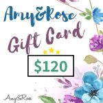 $120 Gift Card AmyandRose