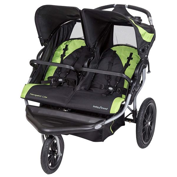 Baby Trend navigator lite double jogger stroller Lincoln