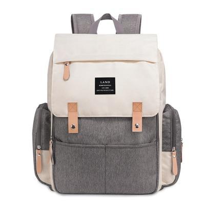 Original Land Diaper Backpack Bag - Beige Rixi - AmyandRose