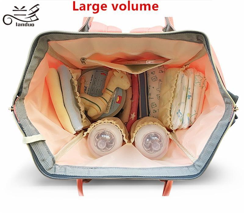 Large Capacity of Land Diaper Bag