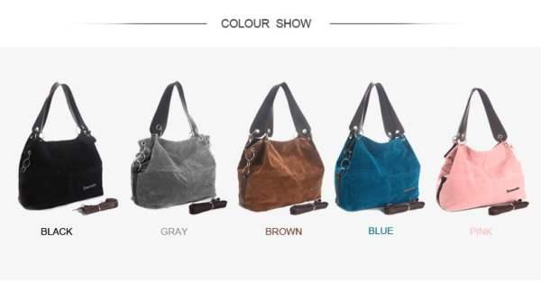 Daunavia Handbag Colors