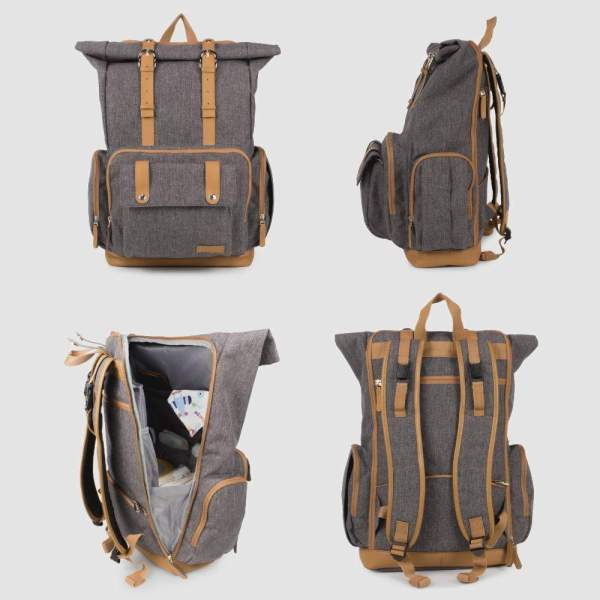 Diaper Backpack for Dad View