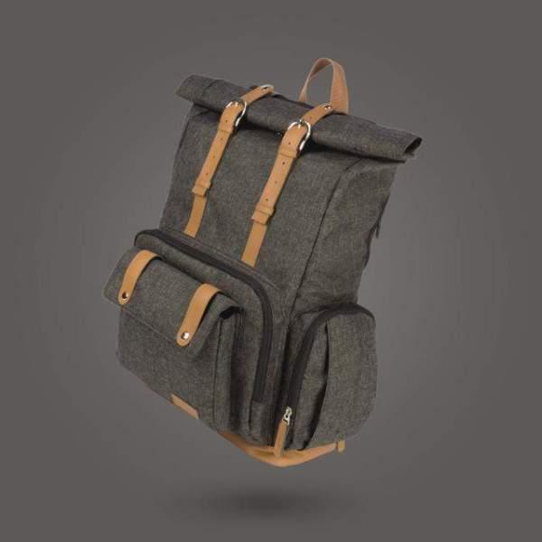 Diaper Bag for Dads Dark Grey