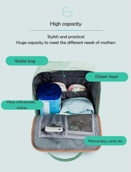 Diaper bag uses