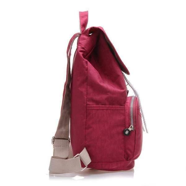 Preppy Style Women's Waterproof Backpack Side