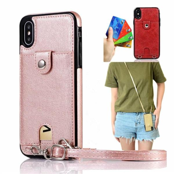 iPhone Purse Case with Strap for Shoulder