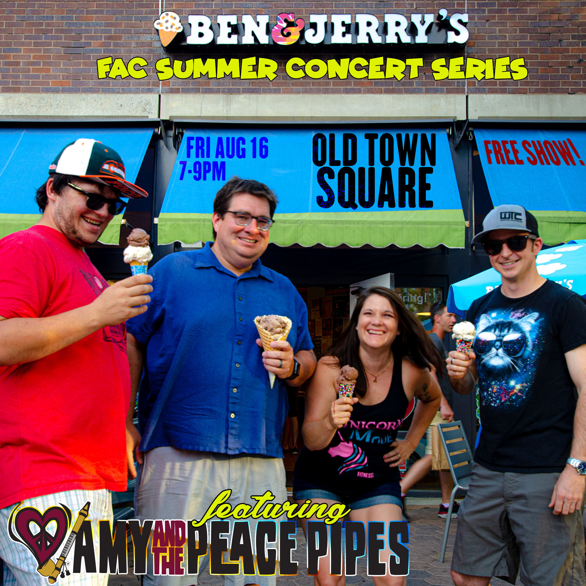 Ben & Jerry's FAC Old Town Concert Series