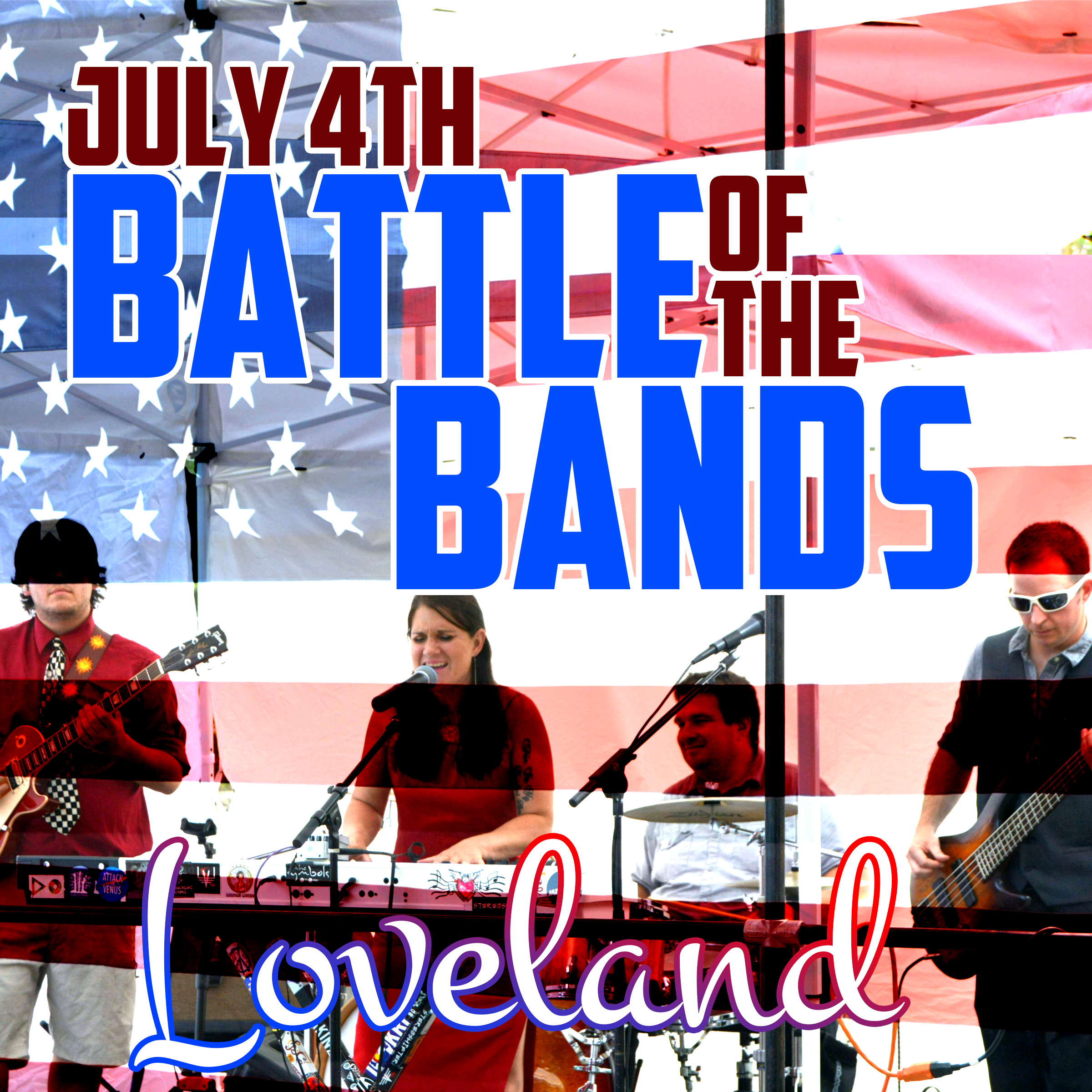 SURPRISE July 4th Performance at Loveland Battle of the Bands