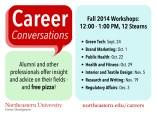 Career Conversations A-Frame Sandwich Board Design