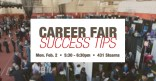 Career Fair Success Tips Marquee Image