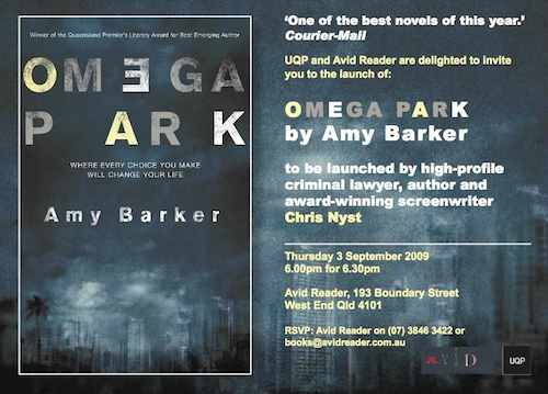 Omega Park Launch Invitation