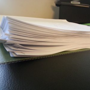 The MSS that is about 40K words too many