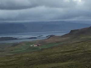 Steingrimsfjörður near Holmvik