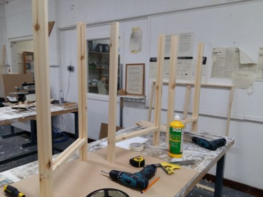 Frames half-way to completion