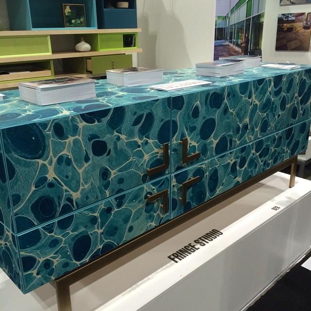 Watermark cabinet by Stacy Binns for Fringe Studio