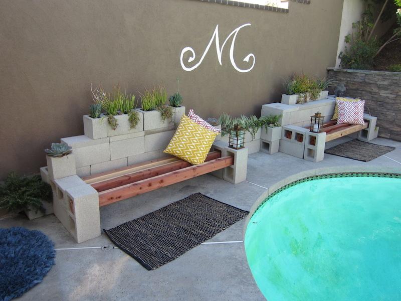 Succulent Planter Bench