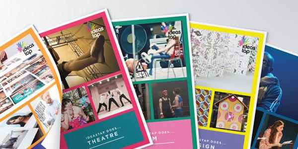 Amy Douthett Communications | IdeasTap | Discipline Brochures