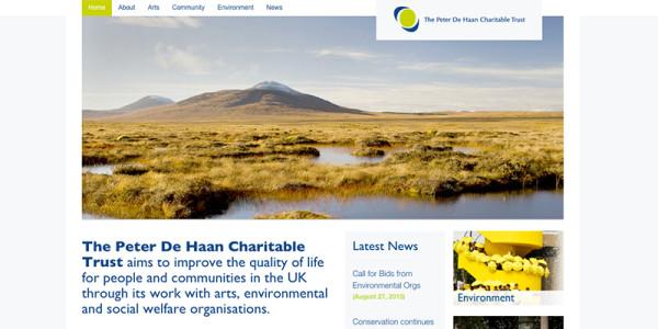 Amy Douthett Communications | The Peter De Haan Charitable Trust | Website