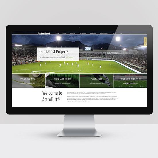 AstroTurf Website Design
